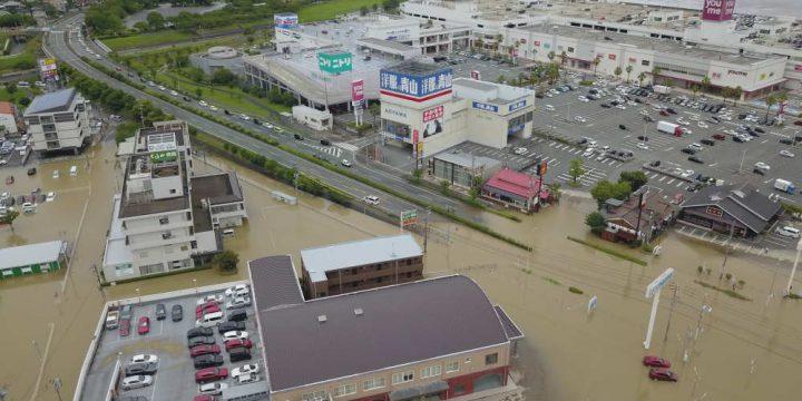 福岡県 久留米市 洪水被害